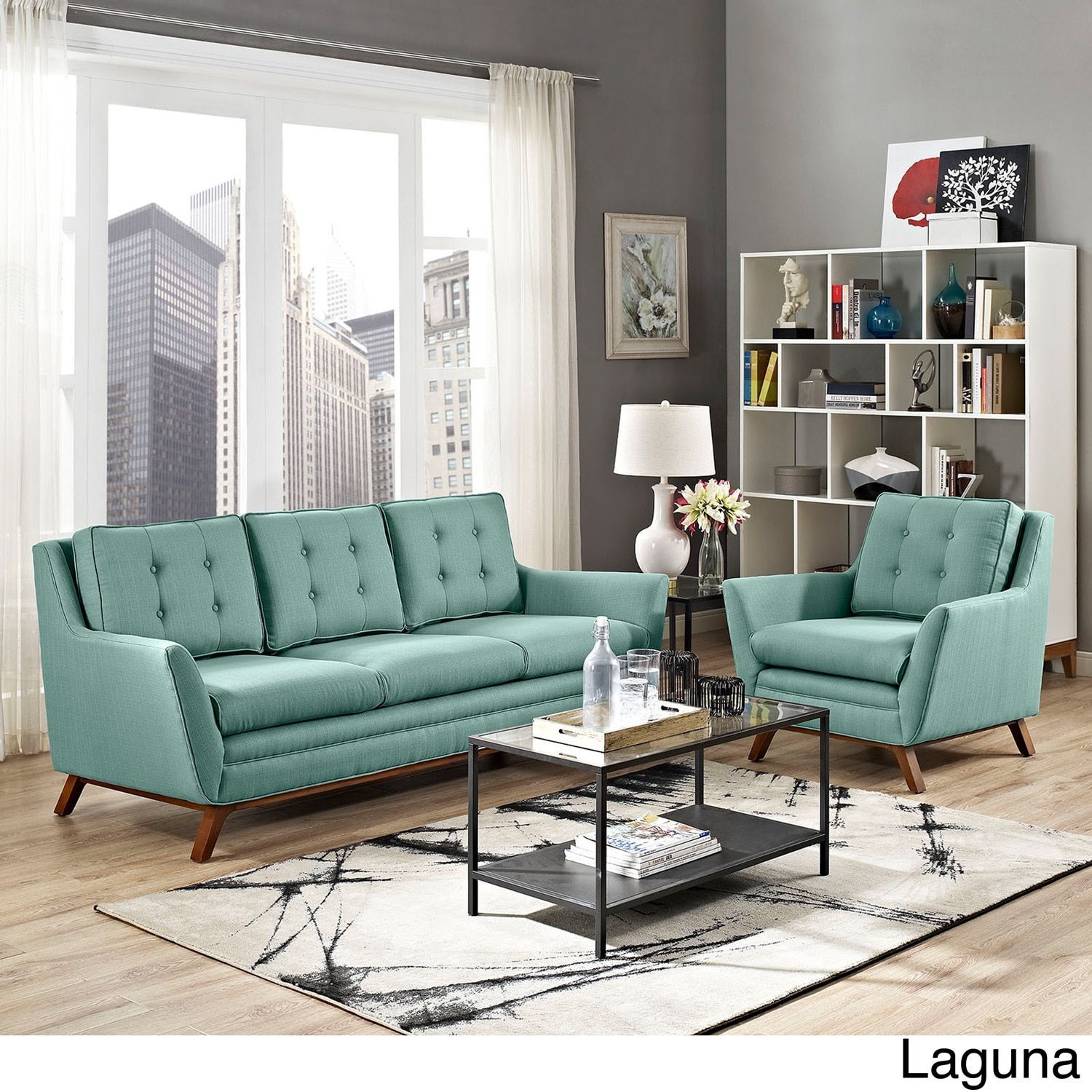 Room Modway Beguile Tufted Fabric Armchair