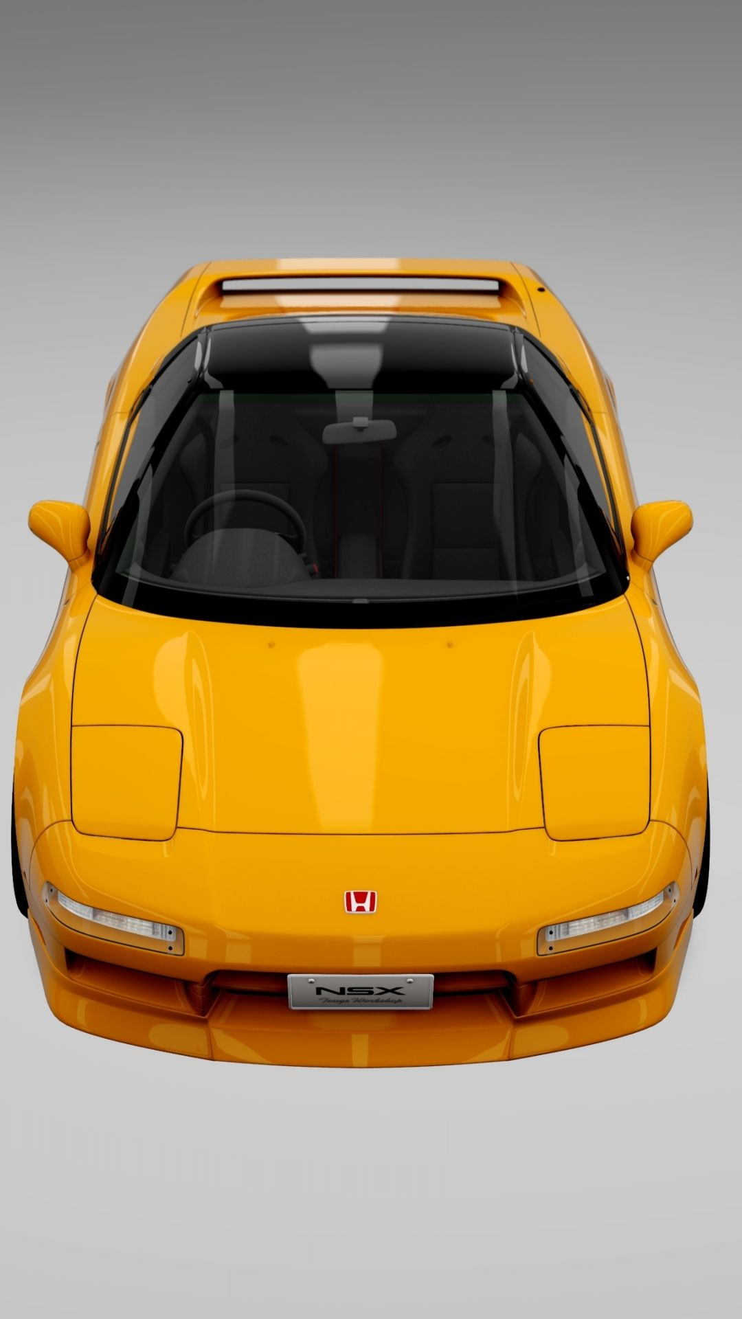 1080x1920 Honda Nsx Orange Car Wallpaper Orange Car Nsx Orange Car Wallpaper