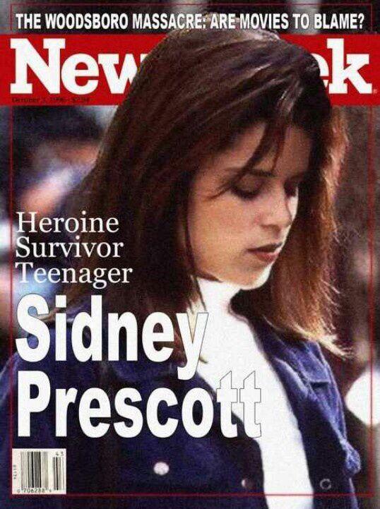 nouveau concept 0ce27 0bba3 Scream, Sidney Prescott, Newsweek | Scream in 2019 | Scream ...