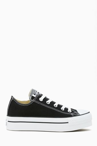 22b94bc3dbdb89 Want!!!!! Converse All Star Platform Sneaker - Black
