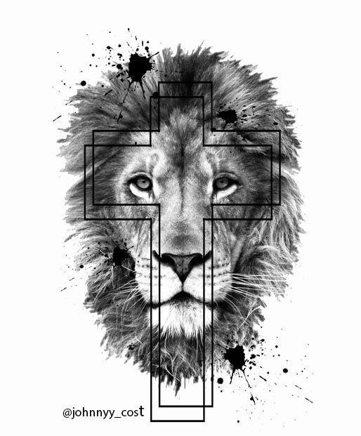 Lion Cruz Leao De Juda Papel De Parede Biblico Papel De Parede