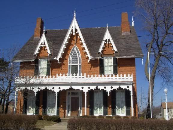 1847 gothic revival home mansfield ok house inspiration