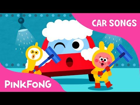 At the Car Wash | Car Songs | PINKFONG Songs for Children - YouTube