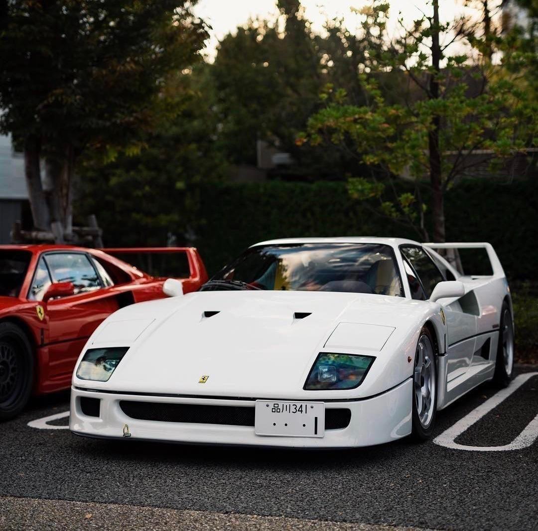 Frank Ocean White Ferrari Posted By Shantmeg Cars Motorcycles Ferrari F40 White Ferrari Ferrari