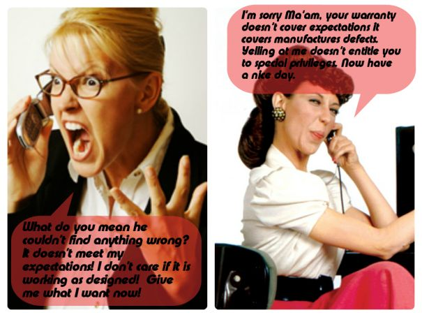 topic spill meme customer service rep vs the angry