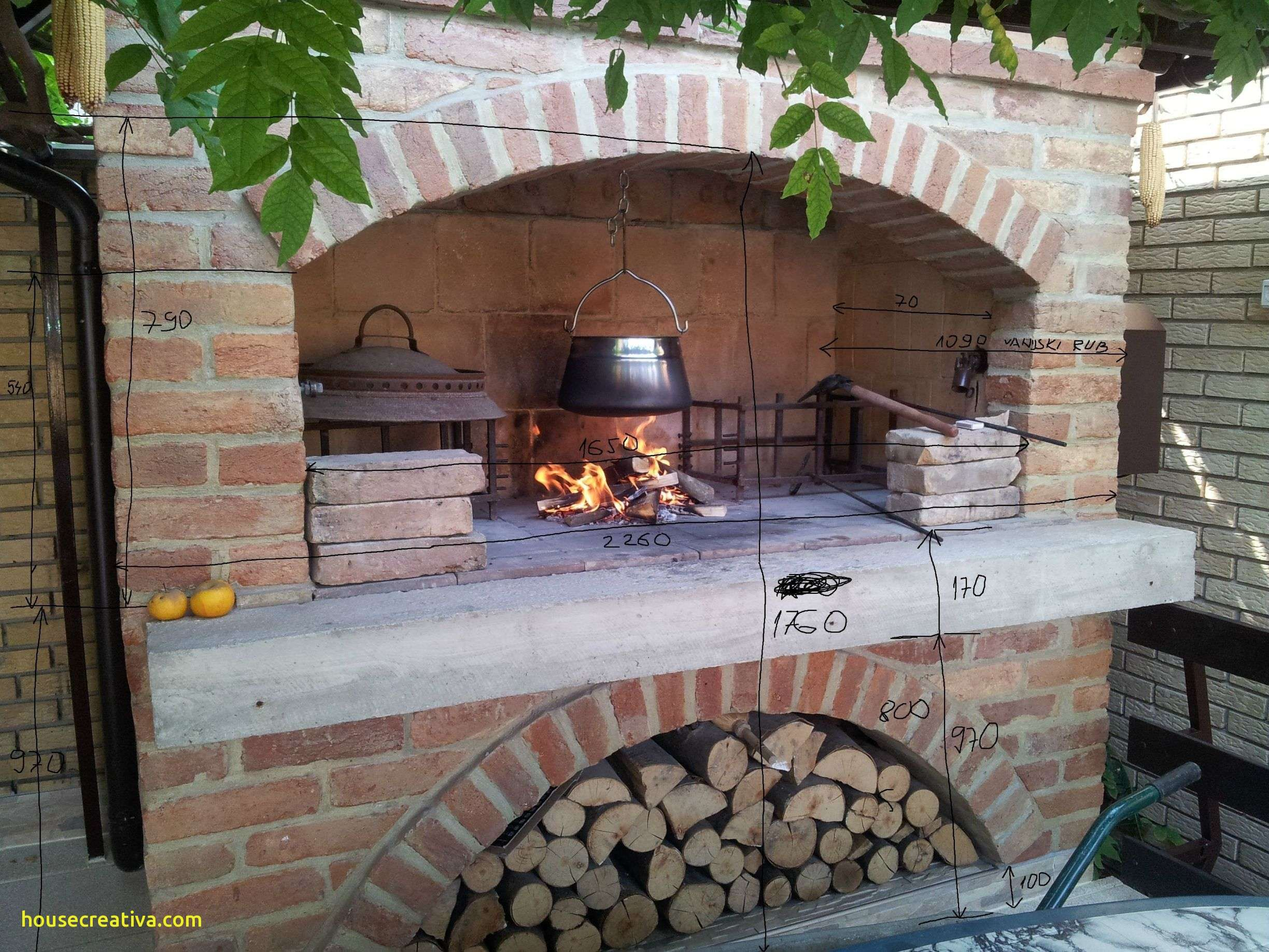 Luxury Outdoor Fireplace Pizza Oven Combo Homedecoration Homedecorati Outdoor Cooking Fireplace Outdoor