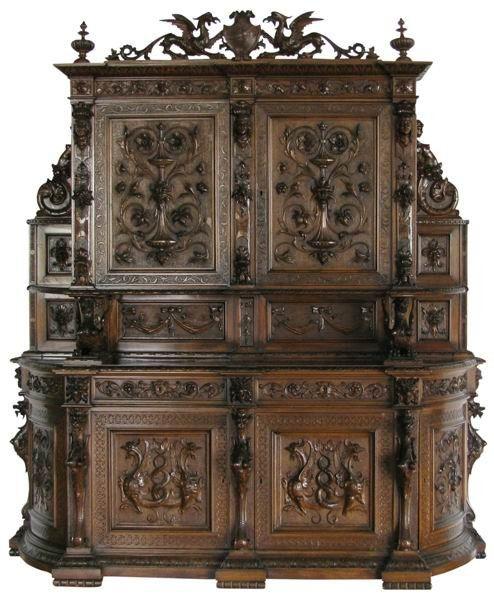 249 19th Century Italian Renaissance Revival Buffet Lot