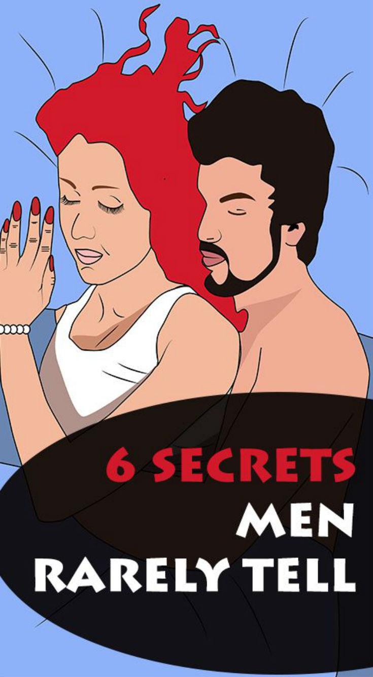 6 Secrets Men Rarely Tell - Daily Rumors