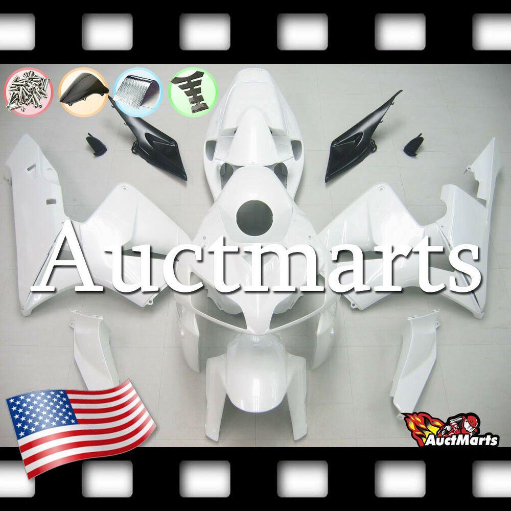 ABS Fairing Kit Bodywork for HONDA CBR600RR 2009-2012 2010 2011 Unpainted white