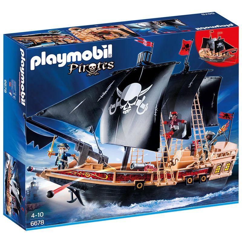 Buque Corsario Playmobil Pirates Piratas Barcos Playmobil