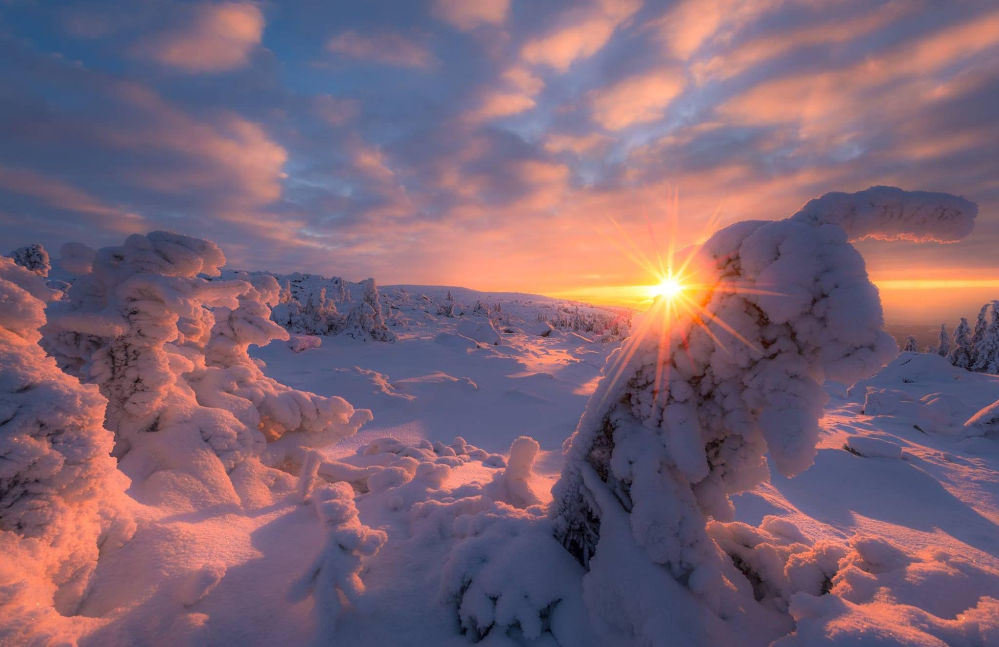 всё зимнее небо фото самой