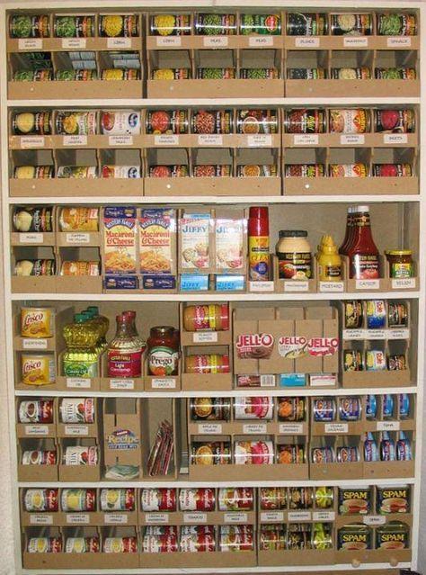 Garde manger conserves id e garde manger rangement - Garde manger cuisine ...