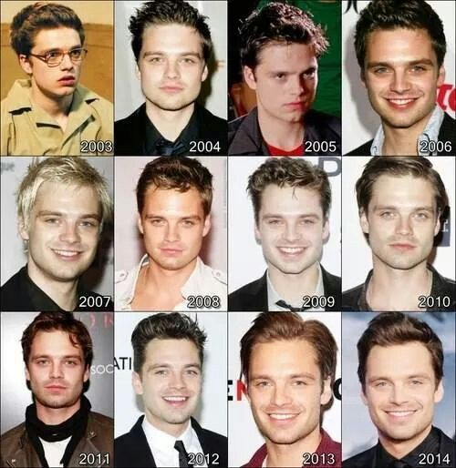 Oh. My. Gosh. What happened between 2003 and 2004?!------omg 2007.. don't ever do that again Seb....D: