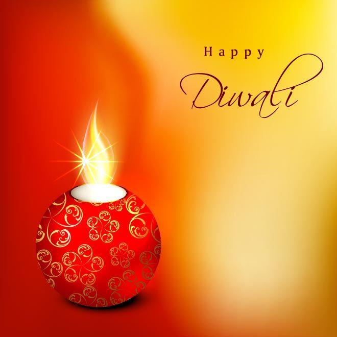 Free Vector Beautiful Floral Diya Happy Diwali Abstract Greeting Card Template Diwali Greeting Cards Happy Diwali Images Diwali Wishes