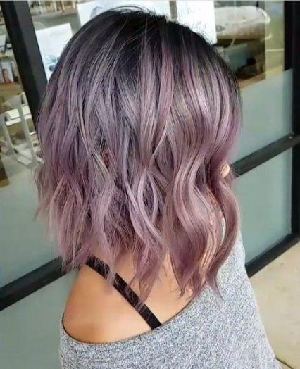 27+ Ideas For Hair Pink Gray Colour -   12 hair Pink gray ideas