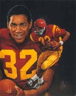 1968 Oj Simpson Usc Usc Trojans Football College Football