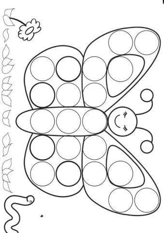 30 Fichas para imprimir de Desenhos para preencher