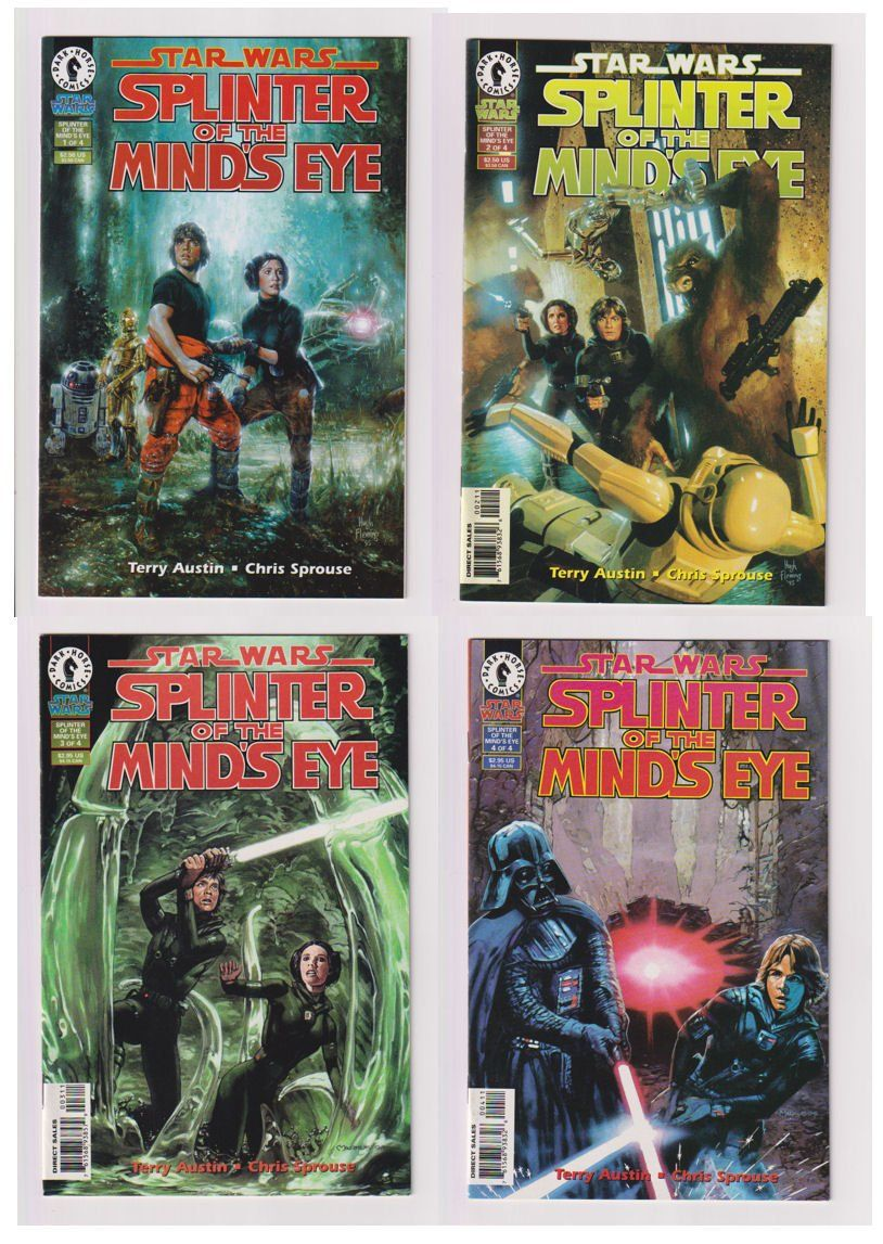 Star Wars Splinter Of The Mind S Eye Vol 1 1 To 4 Modern Age