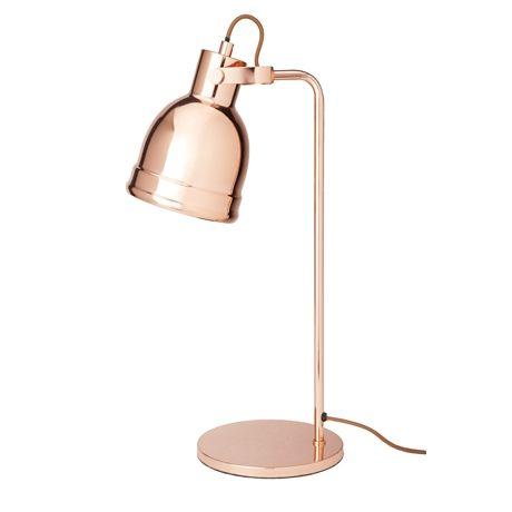 Copper Bedside Wall Lamps : Room Salvation - Anna s lounge Hinged Table Lamp 50.5cm Freedom Furniture and Homewares room ...