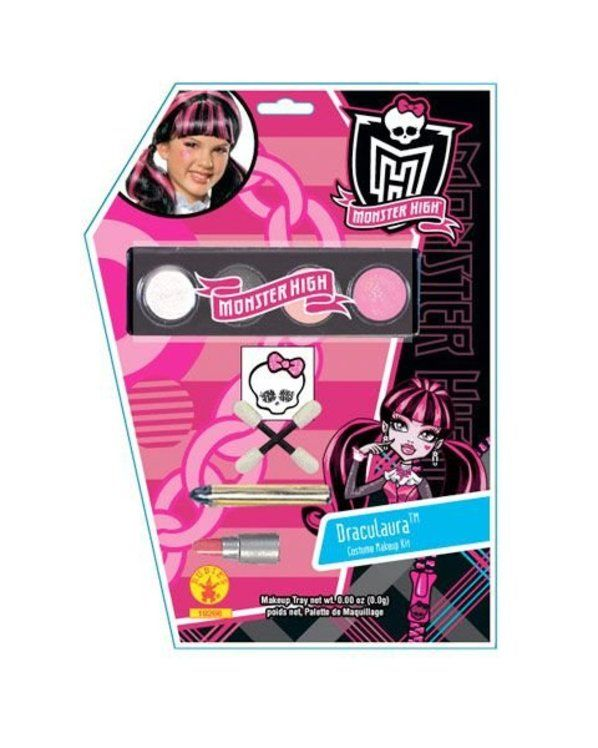 check out draculaura makeup kit monster high makeup kits from costume discounters