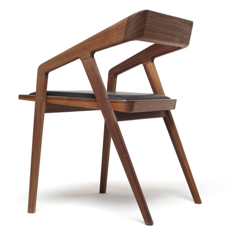 Contemporary wood furniture design of katakana occasional for Modern chair design