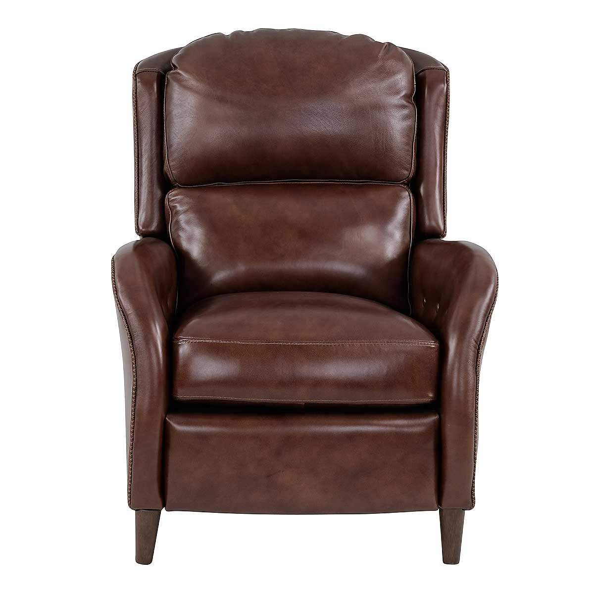 Sofa Bed Eastbourne Eastbourne Brown Leather Power Recliner With Power Headrest In