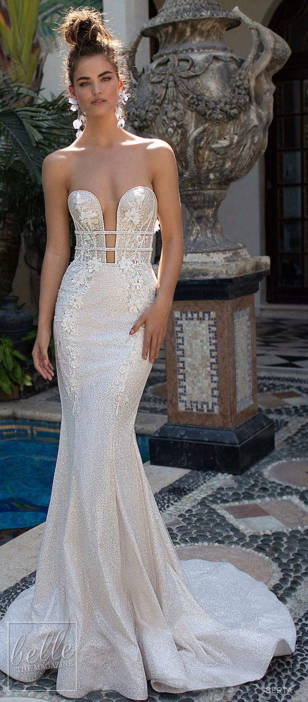 BERTA Wedding Dresses Spring 2019 : Miami Bridal Collection ...