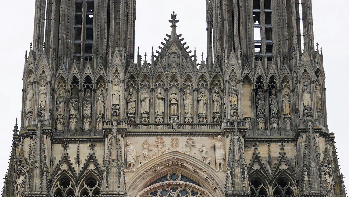 La escultura gótica en Francia (con imágenes) Catedral