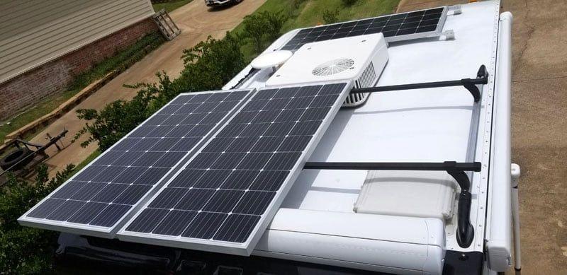 Mega 600 Watt Solar Panel Installation In 2020 Solar Panel Installation Solar Panels Installation