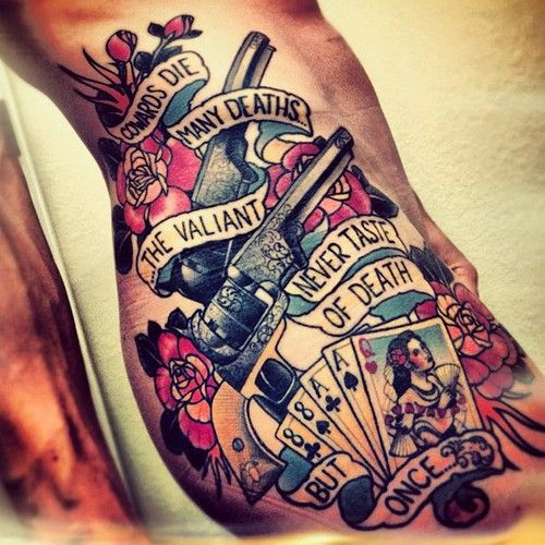 Old school tattoo. #tattoo #inked