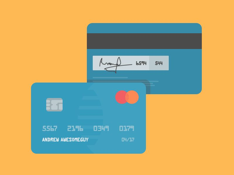 Credit Cards - Free PSD by George Vasyagin Credit Card - credit card form