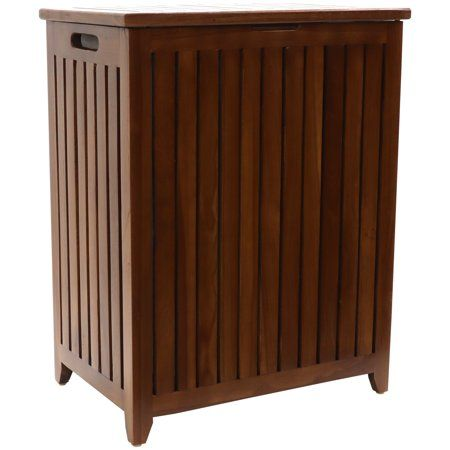 Home In 2020 Laundry Hamper Teak Teak Wood