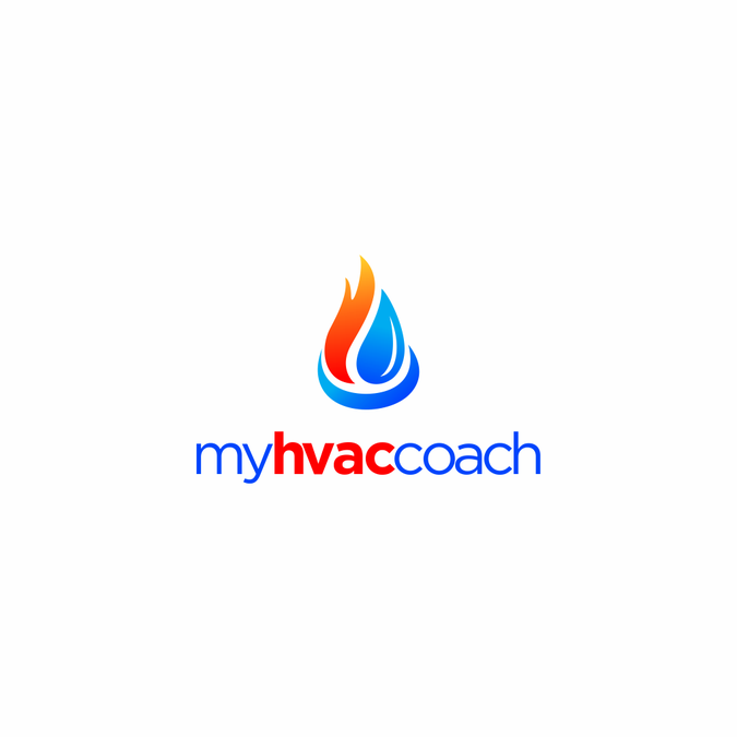 Hvac Cooling And Heating Logo By Symfony Senja With Images