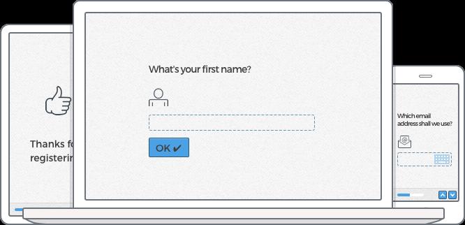online registration form template web design pinterest online