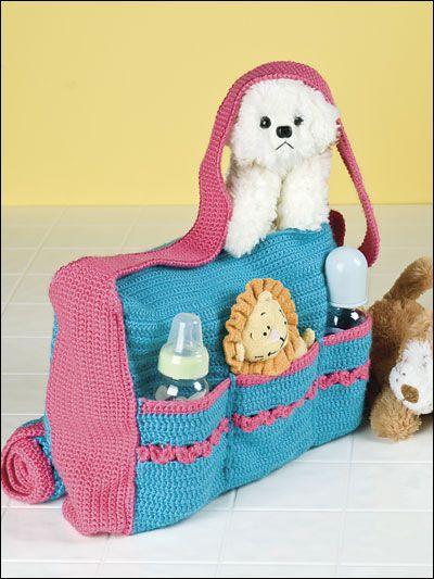 Mermoz Round Crochet Bag Is A Free Pattern | Bolsos, Bebe y Tejido