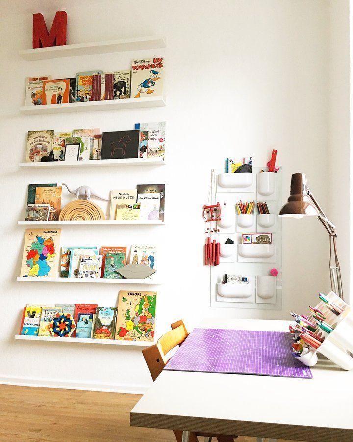 Kinderzimmer | SoLebIch.de Der 8. Und Der ... #solebich #Kinderzimmer #ideen  #Wandgestaltung #Bücherregal #Einrichten #Ordnung #skandinavisch #su2026