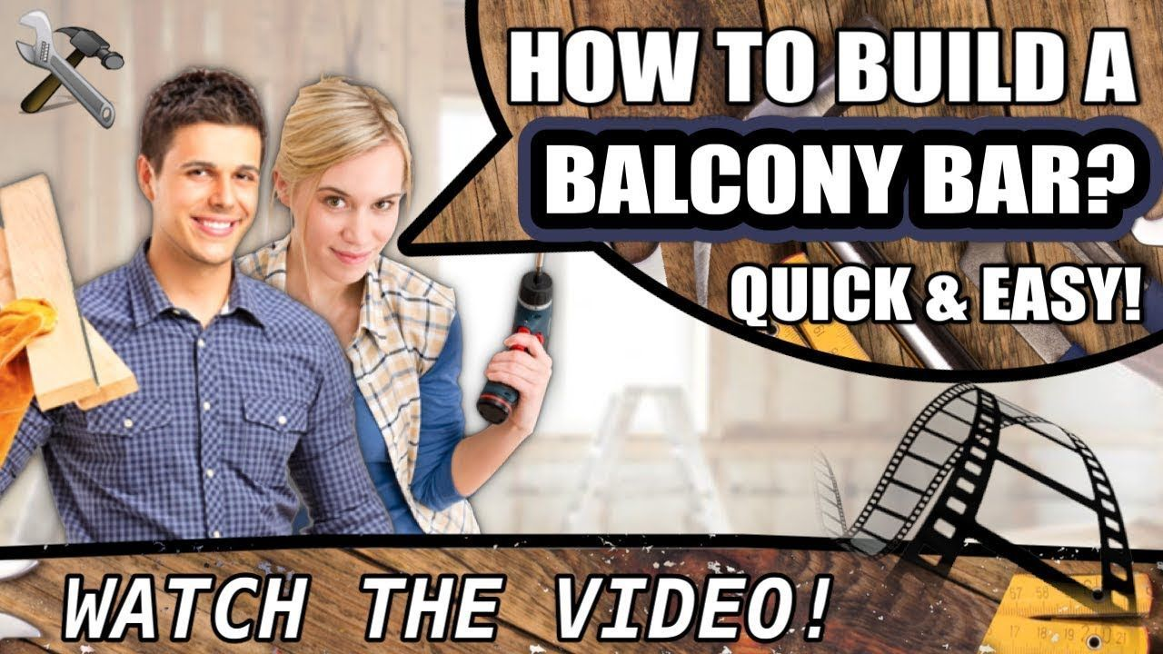 How to build a #balcony #bar #table? How to build a #balcony #bar #table? #balconybar