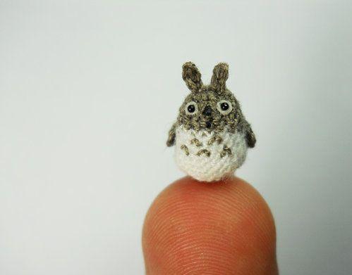 Totoro in miniature