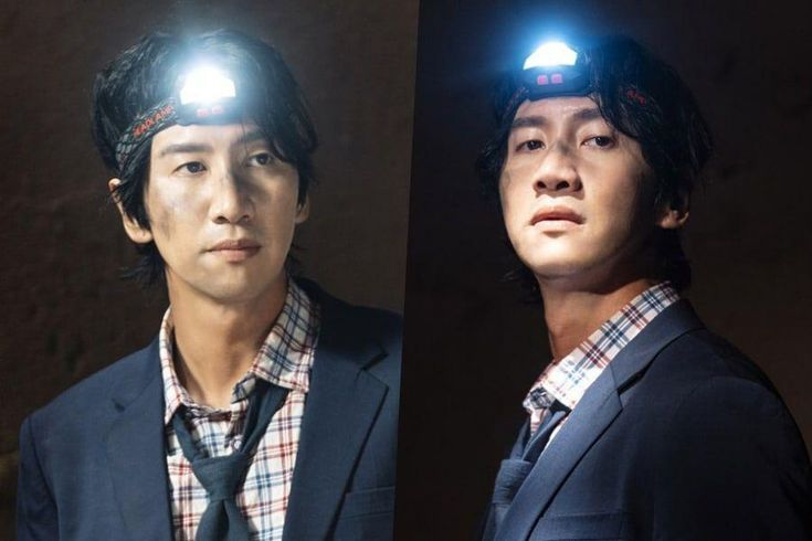 """Lee Kwang Soo Acts Brave In The Face Of Danger In Behind-The-Scenes Stills For """"Sinkhole"""""""
