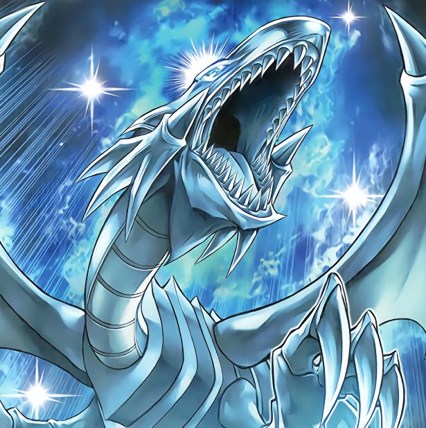 Blue Eyes White Dragon Yu Gi Oh Yugioh Dragons Yugioh White Dragon