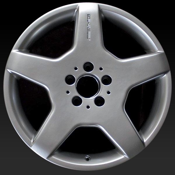 "Mercedes S Class wheels for sale 2003-2006. 18"" AMG Silver rims 65309 - http://www.rtwwheels.com/store/shop/mercedes-s-class-wheels-for-sale-amg-silver-65309/"