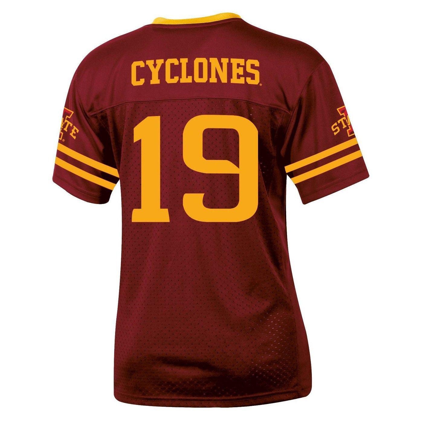 Ncaa Iowa State Cyclones Boys Short Sleeve Replica Jersey In 2020 Iowa State Cyclones Iowa State Jersey