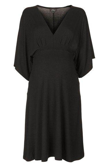 Topshop Plunging V-Neck Jersey Maternity Dress | Nordstrom