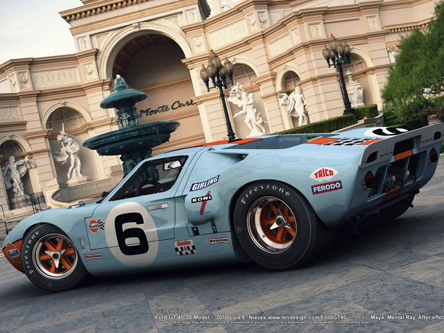 Ford Gt40 Ford Gt Super Cars