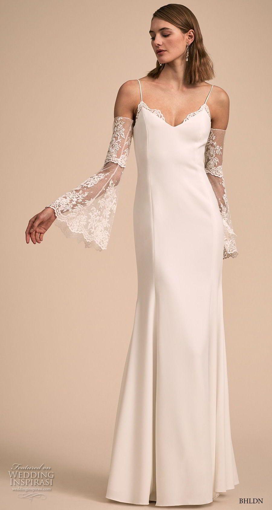 Simple elegant wedding dress designers  BHLDNus Designer Collective Exclusive Wedding Dresses u from the