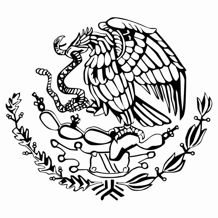 32 Mexico Flag Coloring Page in 2020 (With images) | Flag ...