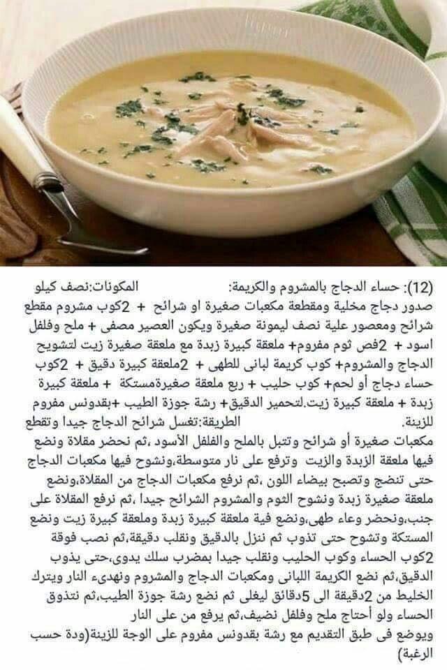 سورية الدجاج بالمشروم Cookout Food Energy Bites Recipes Food
