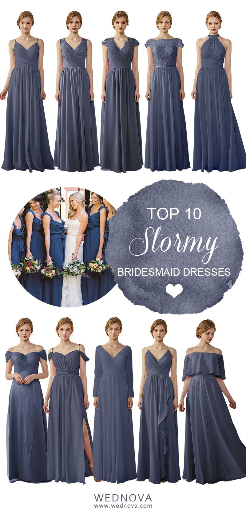 Popular stormy bridesmaid dresses halter dress all styles u size