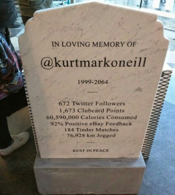 Modern eulogy