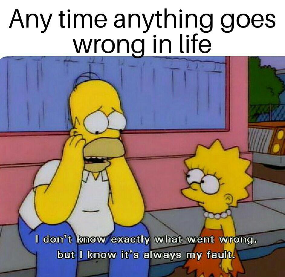 Anytime Anything Goes Wrong In Life The Simpsons Bjj Memes Jiu Jitsu Bjj Humor